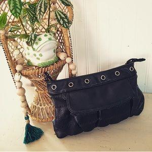 Black small clutch / purse
